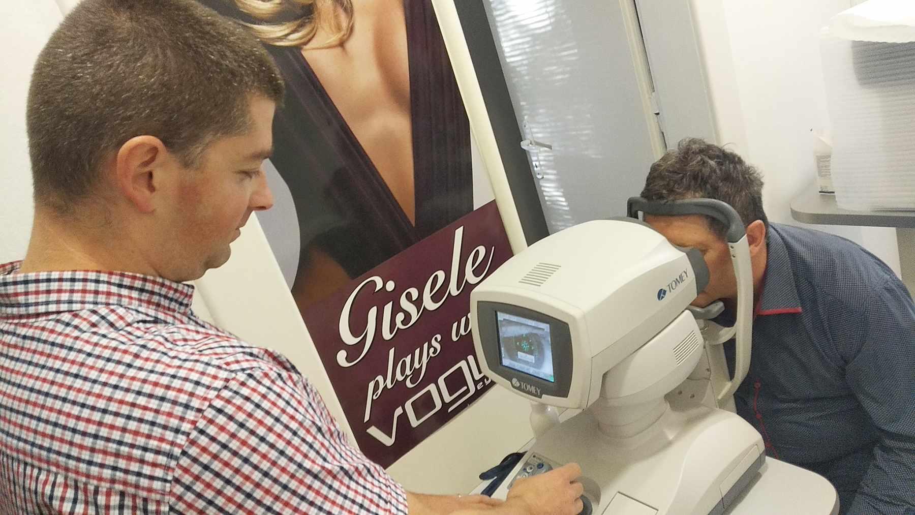 Vyšetrenie zrakovej ostrosti