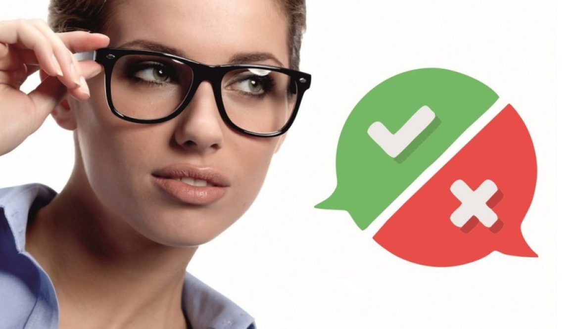 Mýty o nosení dioptrických okuliarov